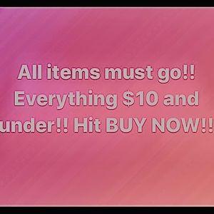 💥$10 & ⬇️ PUSH BUY NOW BUTTON💥
